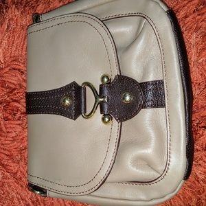 Adjustable Etienne Aigner Crossbody Leather Bag